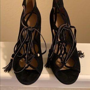 Ferragamo sandals high heels